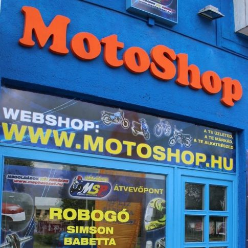 MotoShop robogóüzlet - kép az üzletről